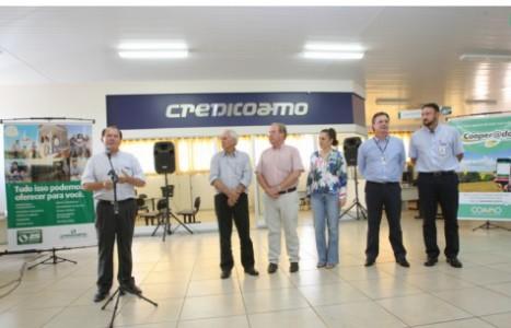A Credicoamo tem 41 Agências, com quadro social de 12.884 cooperados nos Estados do Paraná, Santa Catarina e Mato Grosso do Sul