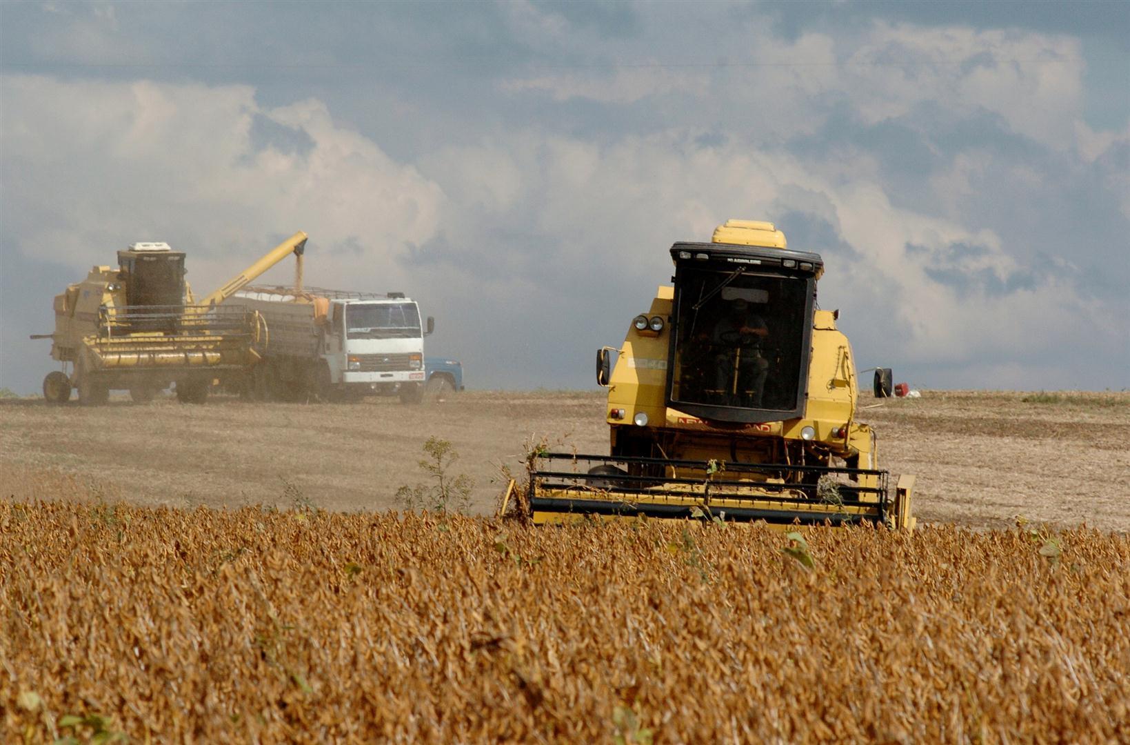 Colheita da soja avança no Estado; em algumas regiões mais de 72% das lavouras da oleaginosa já foram colhidas