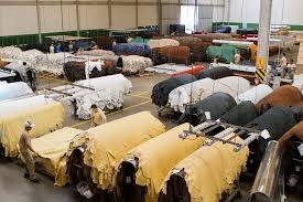 Chineses estão entre os maiores compradores de matérias-primas produzidas em MS, como o couro bovino