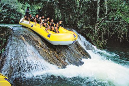 Bonito recebeu mais de 204 mil turistas e manteve durante o ano, uma taxa média de ocupação da rede hoteleira em 52%, atingindo 81% na alta temporada