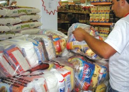 Diferença da cesta básica com todos os 29 itens entre o estabelecimento com preço mais barato e com preço mais caro foi de 21,2%