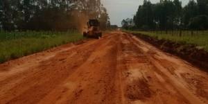 Estradas de assentamento com 151 produtores são recuperadas