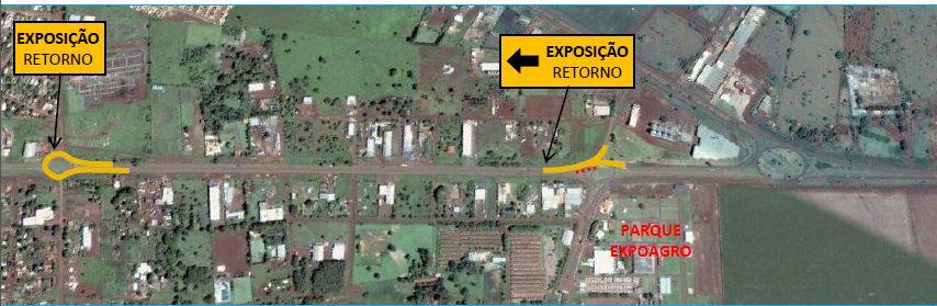Expoagro transito
