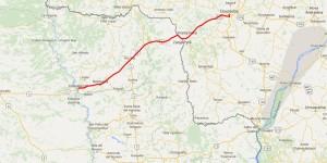 Por Concepción, Dourados fica a 315 quilômetros da hidrovia