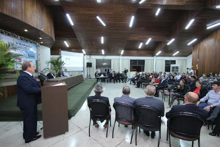 Sindicato Rural de Dourados em parceria com a Câmara de Vereadores de Dourados, realiza sessão na Expoagro (foto: Arquivo CMD)