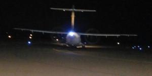 O voo do adeus