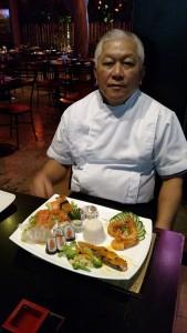 Empresário Antonio Utida cuida pessoalmente do preparo dos pratos servidos no restaurante (Foto:Divulgação)