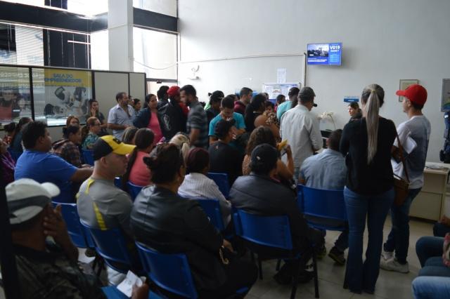 Em Dourados, a busca por vagas de emprego no Ciat tem sido intensa nos últimos meses - (Foto: divulgação)
