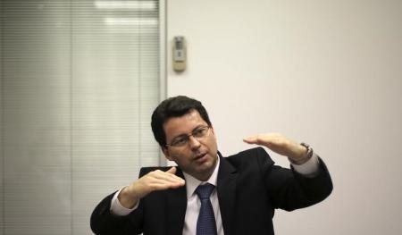 Presidente do Banco do Brasil, Paulo Caffarelli.     23/05/2013       REUTERS/Nacho Doce