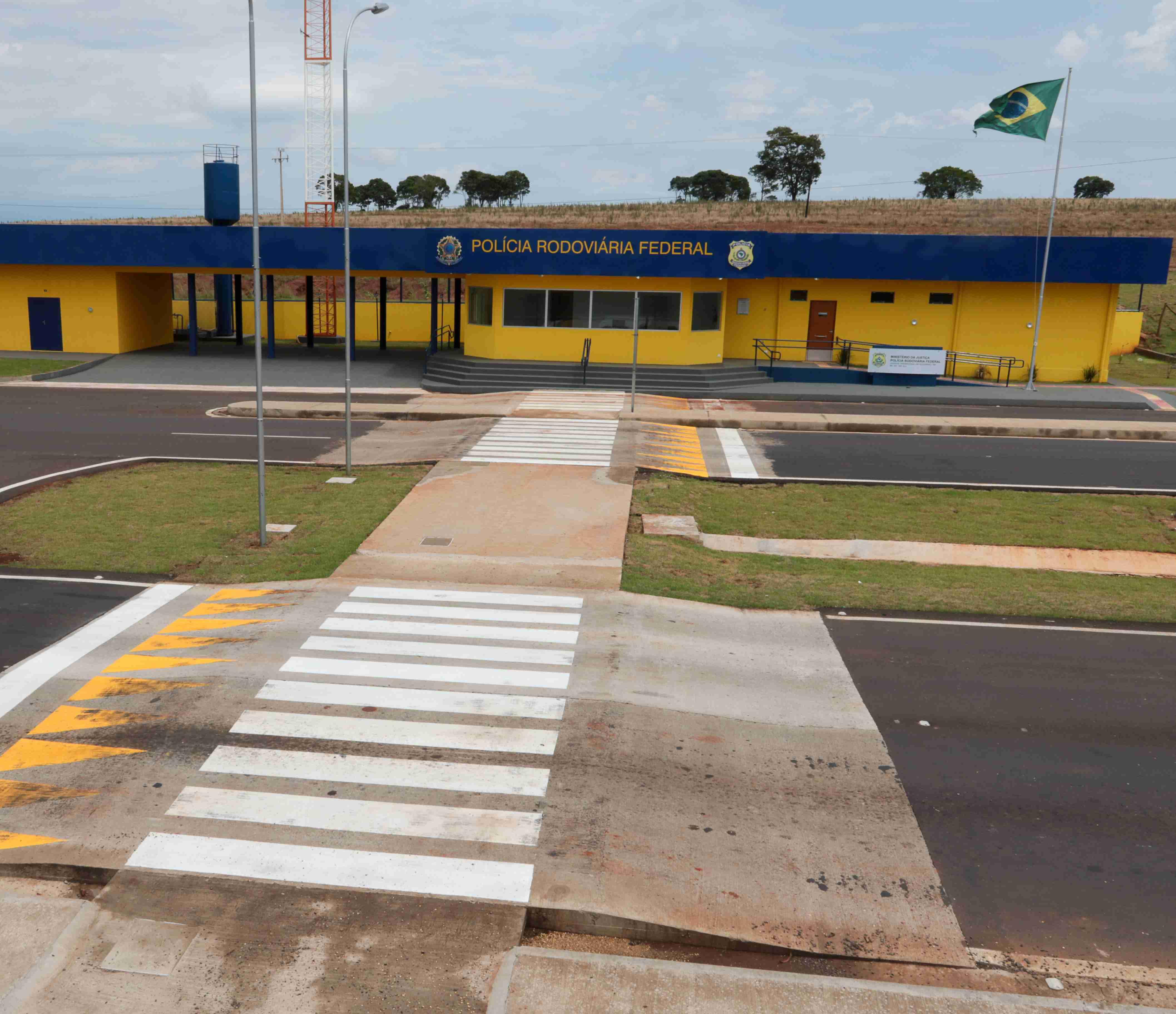 Novo posto da PRF já em funcionamento em Eldorado