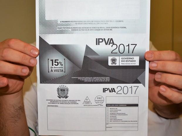 IPVA é a segunda fonte de arrecadação tributária do Governo do Estado, ficando atrás apenas do Imposto Sobre Circulação de Mercadorias e Serviços - Foto: Divulgação