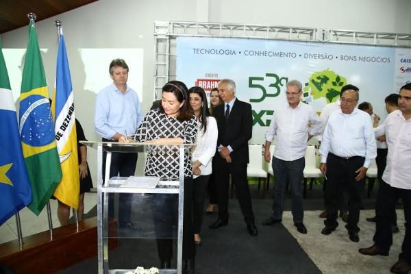 Delia Razuk anunciou recuperação aos produtores rurais de Dourados. (Foto: A. Frota).