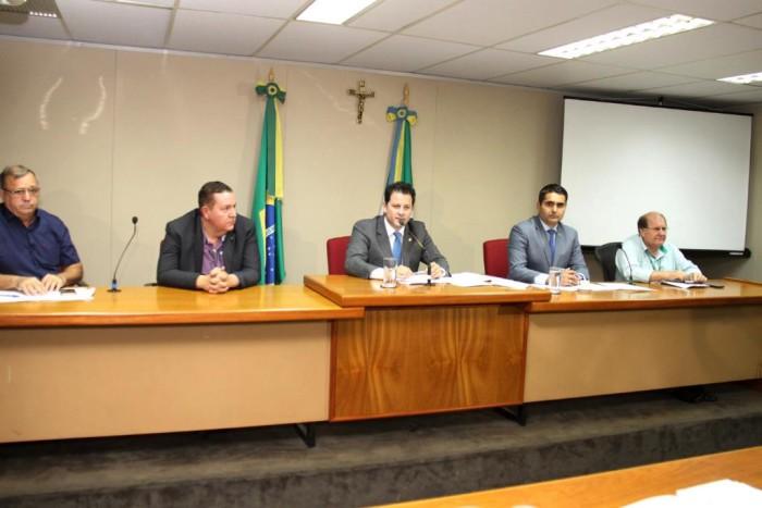Presidida por Renato Câmara, frente vai discutir políticas públicas relacionadas a regularização fundiária no Estado. (Foto: Wagner Guimarães).