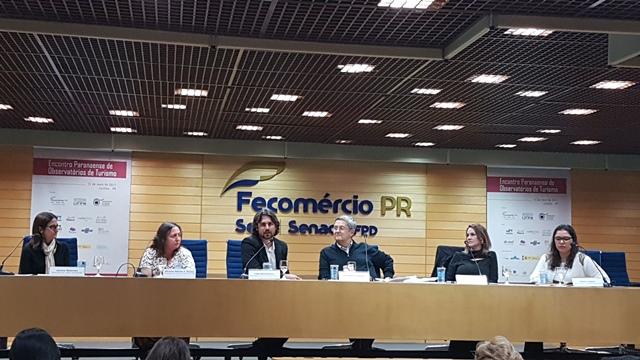 No encontro foi criada a Rede Brasileira de Observatórios de Turismo. (Foto: Divulgação).