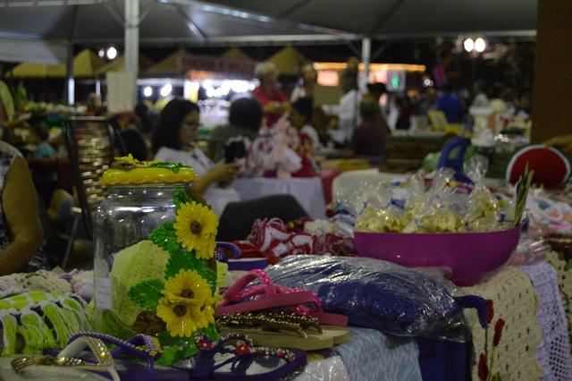 Feira de Artesanato no final de semana é oportunidade para troca de presentes no dia dos namorados. (Foto: Divulgação).