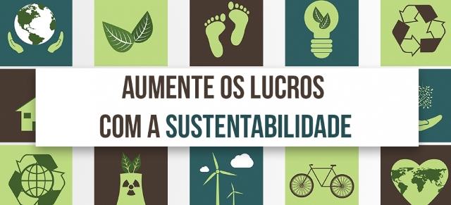 ´ É importante aderir às práticas sustentáveis na nova gestão. (Arte: Divulgação).