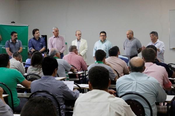 Curso sobre cultivo protegido começou nesta terça-feira e segue até quinta. (Foto: Divulgação).