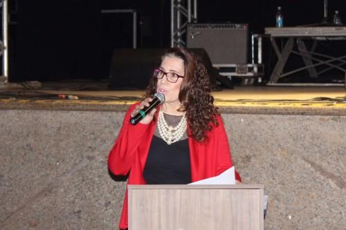 Comunicadora e empresária Elizabeth Salomão, sócia-proprietária da Rádio Clube de Dourados. (Foto: Divulgação).