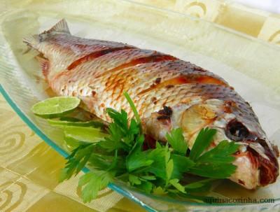 Em um mercado da cidade, um peixe de espécie Jundiá da Amazônia estava sendo vendido como Pintado. (Foto: Divulgação).