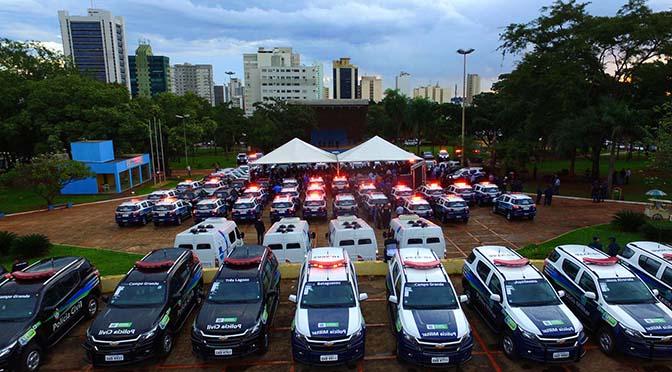A situação de Mato Grosso do Sul poderia ser ainda melhor se houvesse uma maior presença das polícias Federal e Rodoviária Federal. (Foto: Choco Ribeiro).