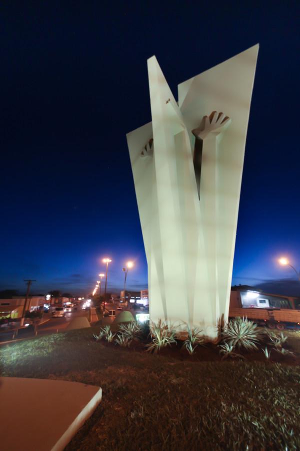 Monumentos que retratam a história de Dourados estão no inventário turístico do município. (Foto: Divulgação).