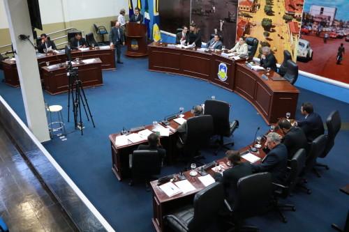Sessão extraordinária aconteceu na manhã de quarta-feira. (Foto: Thiago Morais).