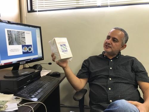 Marcos Faria é o inventor da TEV – Tecnologia Embrapa de Vida-de-prateleira. (Foto: Irene Santana).