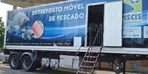 Entreposto móvel processará pescado próximo ao produtor