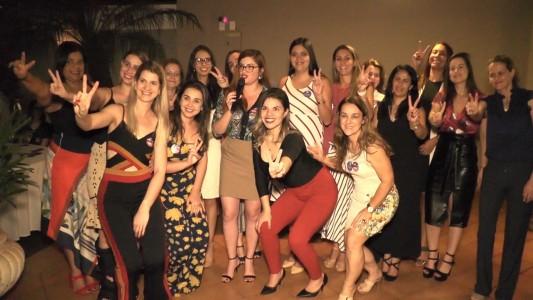 Happy Hour da Mulher Advogada reforçou a candidatura da chapa União Pela Ordem, que tem como candidatos os advogados Alexandre Mantovani (presidente) e Raissa Moreira (vice-presidente)