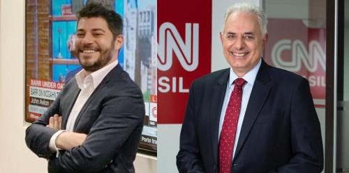 Ex-Globo, dupla é confirmada na equipe de apresentadores da futura emissora de TV. Anúncio sobre acerto com William Waack e Evaristo Costa foi feito por meio dos canais da CNN Brasil nas redes sociais — além de comunicado à imprensa. (Foto: Divulgacão).
