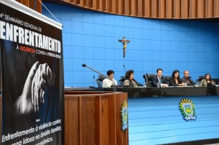Com a realização do 4º Seminário Estadual de Enfrentamento à Violência contra a Pessoa Idosa, deputado Renato Câmara encerrou ás atividades da campanha Junho Prata