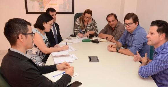 Deputado Renato Câmara se reuniu com representantes do Incra, Energisa e da Defensoria Pública Estadual e da União para traçar alternativas que garanta energia elétrica a aproximadamente 10 mil assentados no Estado
