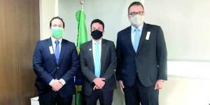 Alan Guedes vai a Brasília em busca de investimentos e apoio da Bancada